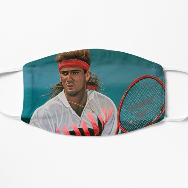 Andre Agassi Painting Mask