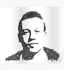 Macklemore Bubble Portrait Poster