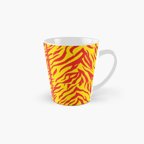 Mask KC Retro Zebra Stripes Football Kansas City Vintage Kc football Kingdom Kansas city Zebra KC cheetah Stripes Pro Gear Tall Mug