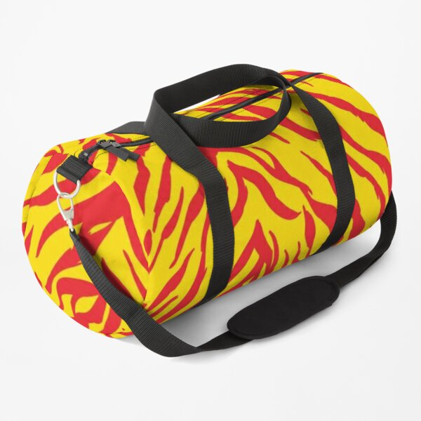 Mask KC Retro Zebra Stripes Football Kansas City Vintage Kc football Kingdom Kansas city Zebra KC cheetah Stripes Pro Gear Duffle Bag