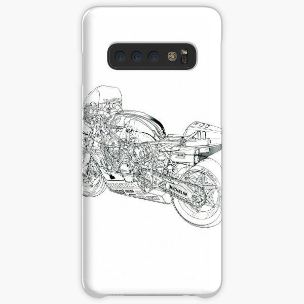 motorcycle small Samsung Galaxy Snap Case