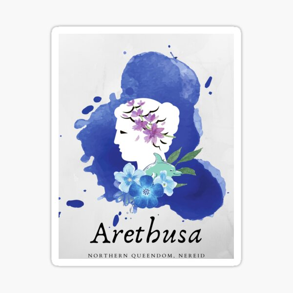 Arethusa, Nereid Sticker