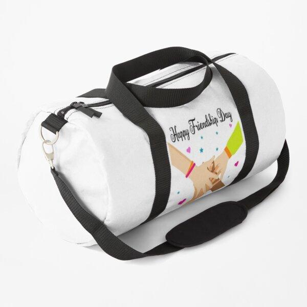 Happy Friendship Day : happy international friendship day Duffle Bag