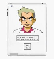 Pokemon - Professor Oak iPad Case/Skin