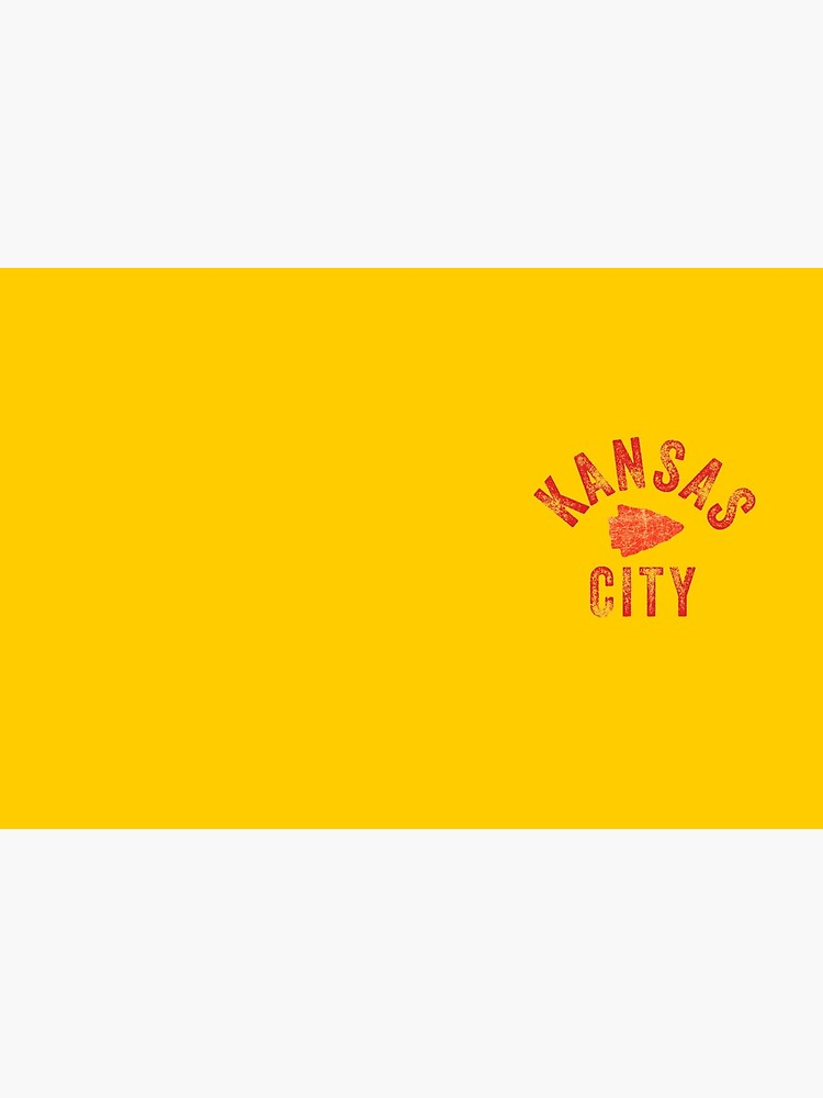 KC Face mask Kansas City facemask Classic Kansas City Football KC Yellow & Red Kingdom Football Kc Gear by kcfanshop