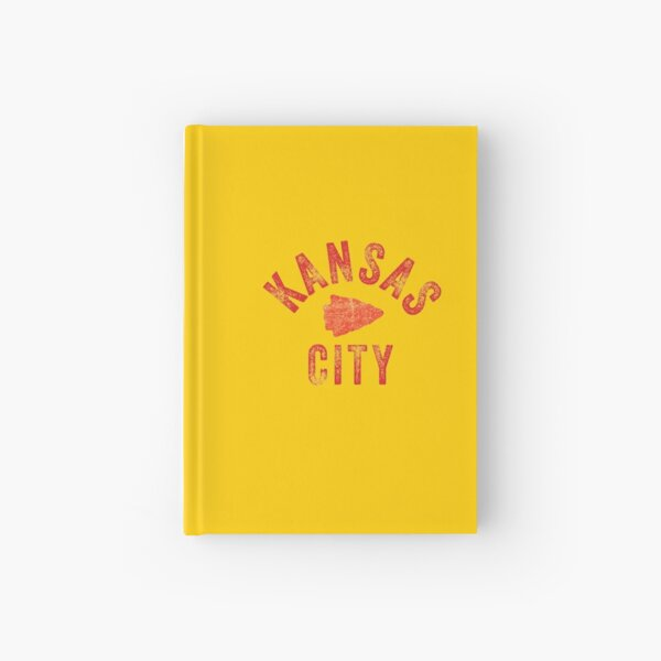 KC Face mask Kansas City facemask Classic Kansas City Football KC Yellow & Red Kingdom Football Kc Gear Hardcover Journal
