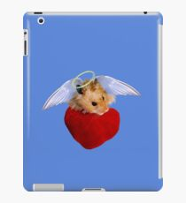 Angel Hamster with Heart iPad Case/Skin