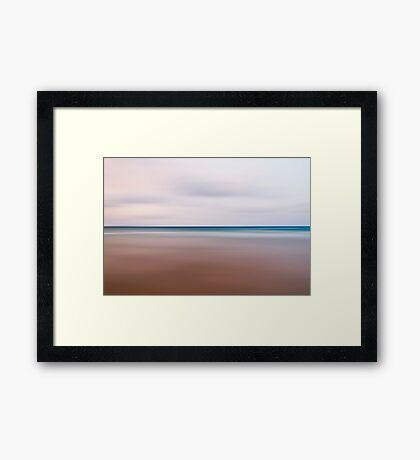 The sea Framed Print
