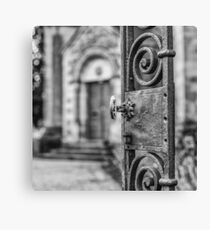 Open Gate Canvas Print