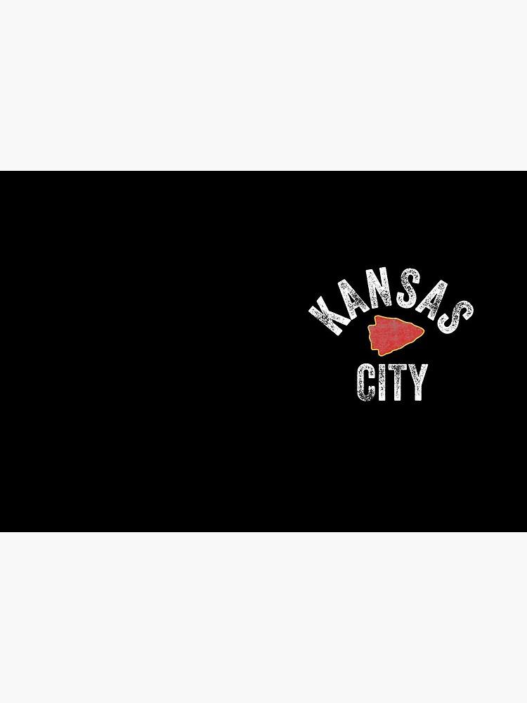 KC Football Tribal Kansas City football Vintage Red Arrowhead Kc Fan Kansas city by kcfanshop