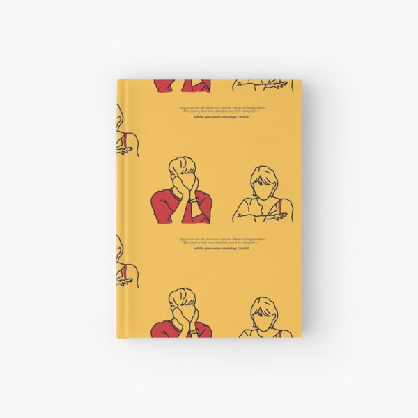 While You Were Sleeping (Tangerine) Hardcover Journal