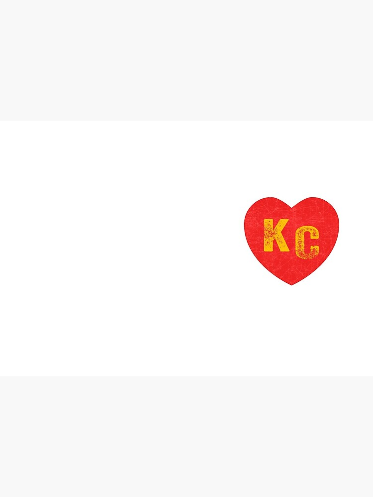 KC Heart Kansas City Hearts I love Kc heart monogram KC Face mask Kansas City facemask by kcfanshop