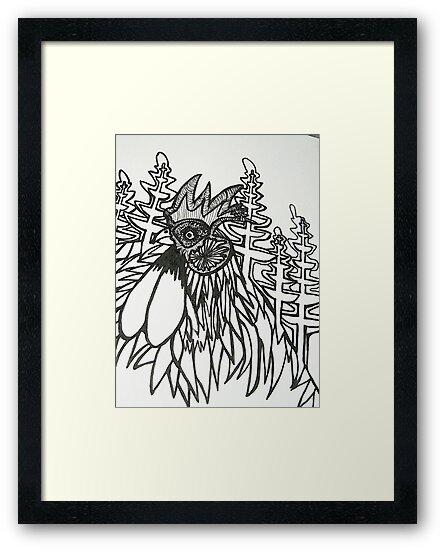 Norfolk Rooster by grarbaleg