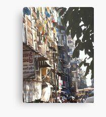 Yangon Streetscape Metal Print