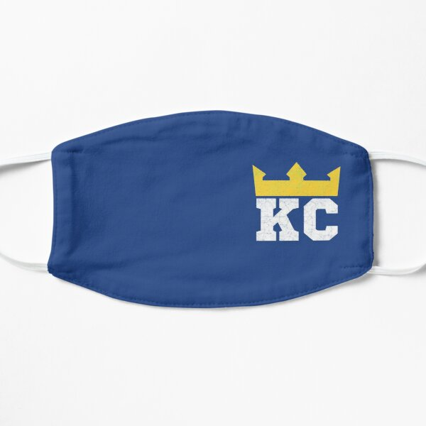 Kansas City Royal Blue KC Crown Town KC Baseball Fan Gear Kansas Citian KC Face mask Kansas City facemask Mask