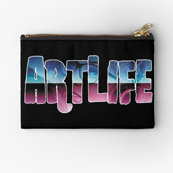 ArtLife with Leanore (Fancy Logo) Zipper Pouch
