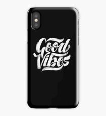 Good Vibes - Feel Good T-Shirt Design iPhone Case