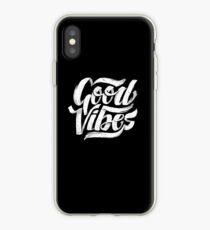 Good Vibes - Feel Good T-Shirt Design iPhone Case