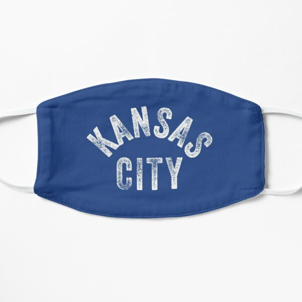 KC Royal Blue Classic Kansas City Vintage Local Kc Baseball Fan Gear Kansas city KC Face mask Kansas City facemask Mask