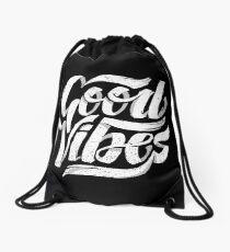 Good Vibes - Feel Good T-Shirt Design Drawstring Bag