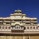 Inner Courtyard, City Palace, Jaipur by Amit  Gairola