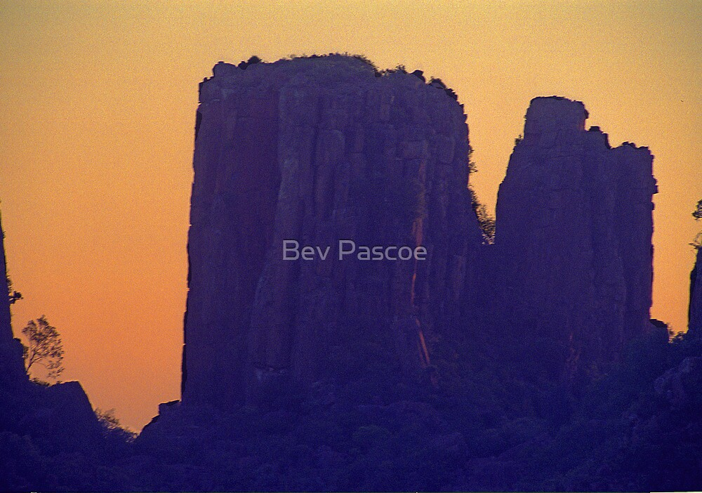 Valley of Desolation at Sunset - South Africa by Bev Pascoe