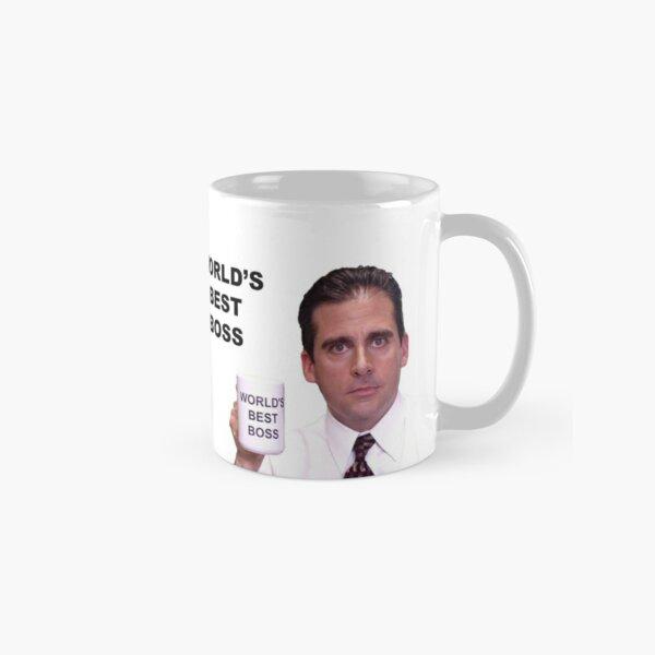 Michael Scott World's Best Boss  Classic Mug