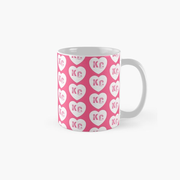 Pink Kansas City KC Heart Collection I Love Kc Hearts KC Face mask Kansas City facemask Classic Mug