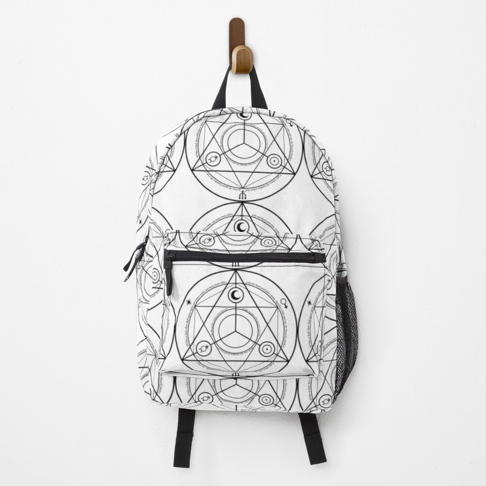 Alchemy Symbol,   ur,backpack_front,square,1000x1000