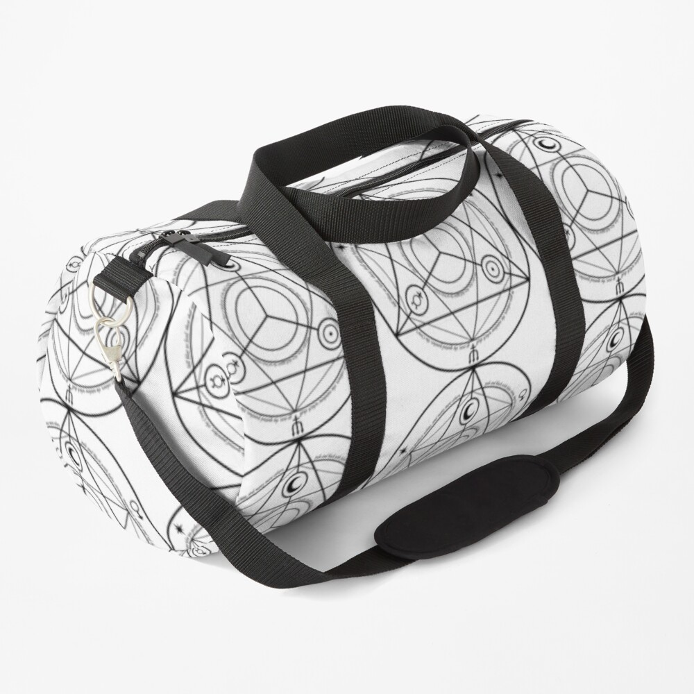 Alchemy Symbol,   ur,duffle_bag_small_front,square,1000x1000