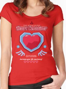 The Miraculous Heart Container Women's Fitted Scoop T-Shirt