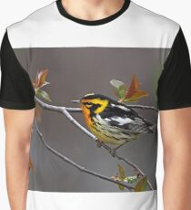 Blackburnian Warbler Graphic T-Shirt