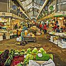 Inside the Gyeongdong Market at Seoul by TonyCrehan