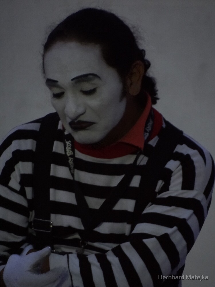 Clown's Portrait - Retrato De Payaso by Bernhard Matejka