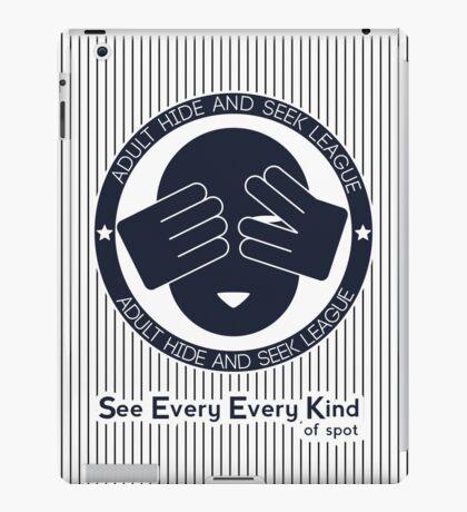 Adult Hide & Seek League iPad Case/Skin