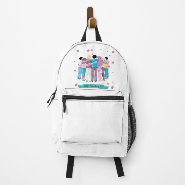 Happy International Friendship Day : Perfect Gift for Friendship day Backpack