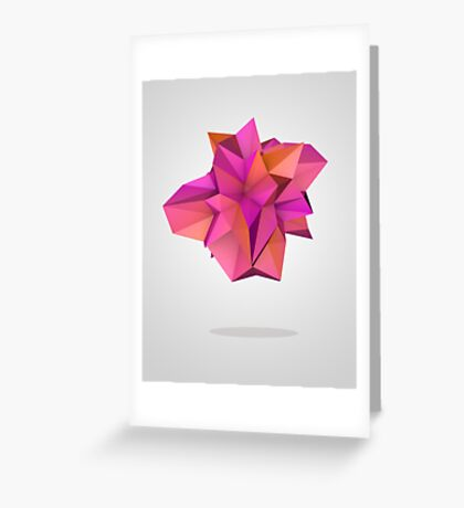Pink Like Orange Greeting Card