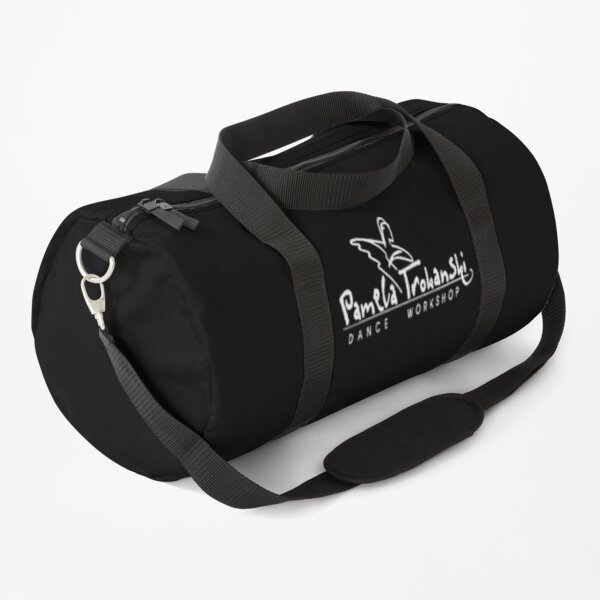 PTDW Logo (White vector) Duffle Bag