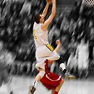 Chance Huth | 2012-13 | Clarkston Basketball Poster by alexela