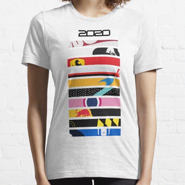 Formula 1 2020 Grid UPDATED Essential T-Shirt