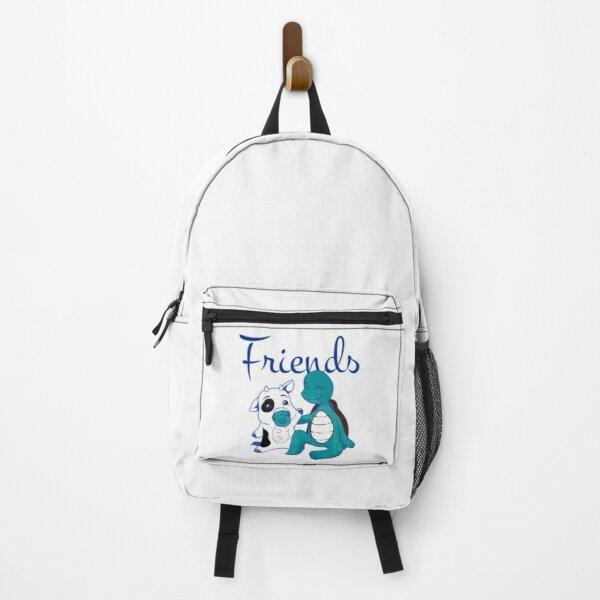 without friends life is just a moo point Slim Fit Backpack