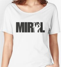 Mirin. (version 1 black) Women's Relaxed Fit T-Shirt