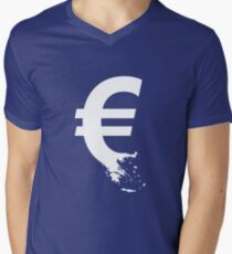 Universal Unbranding - The Greek Collapse Men's V-Neck T-Shirt