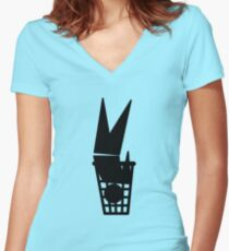 Universal Unbranding - The Ultimate Green Solution Women's Fitted V-Neck T-Shirt
