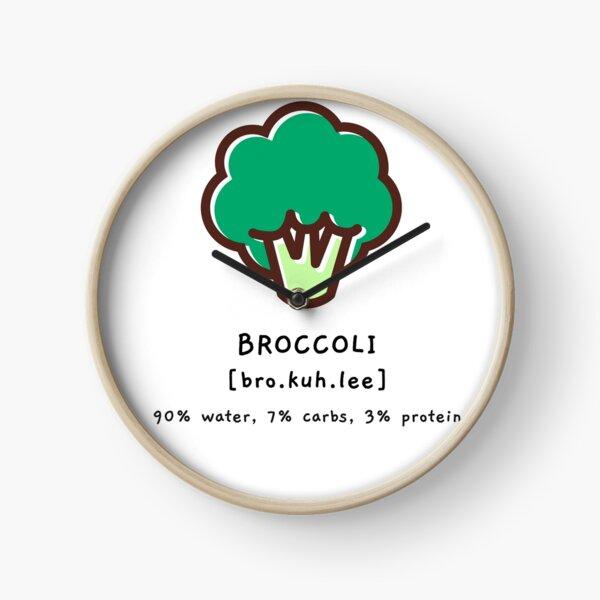 Broccoli Clock
