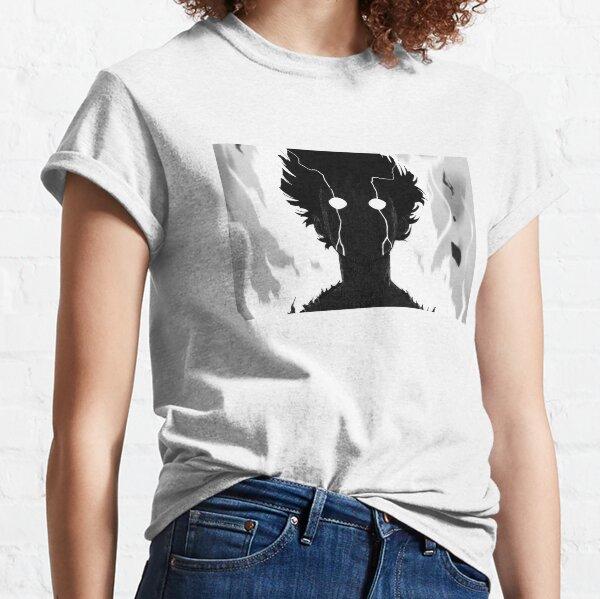 Anime Mob Psycho Anger Rage Art, Illustration Classic T-Shirt
