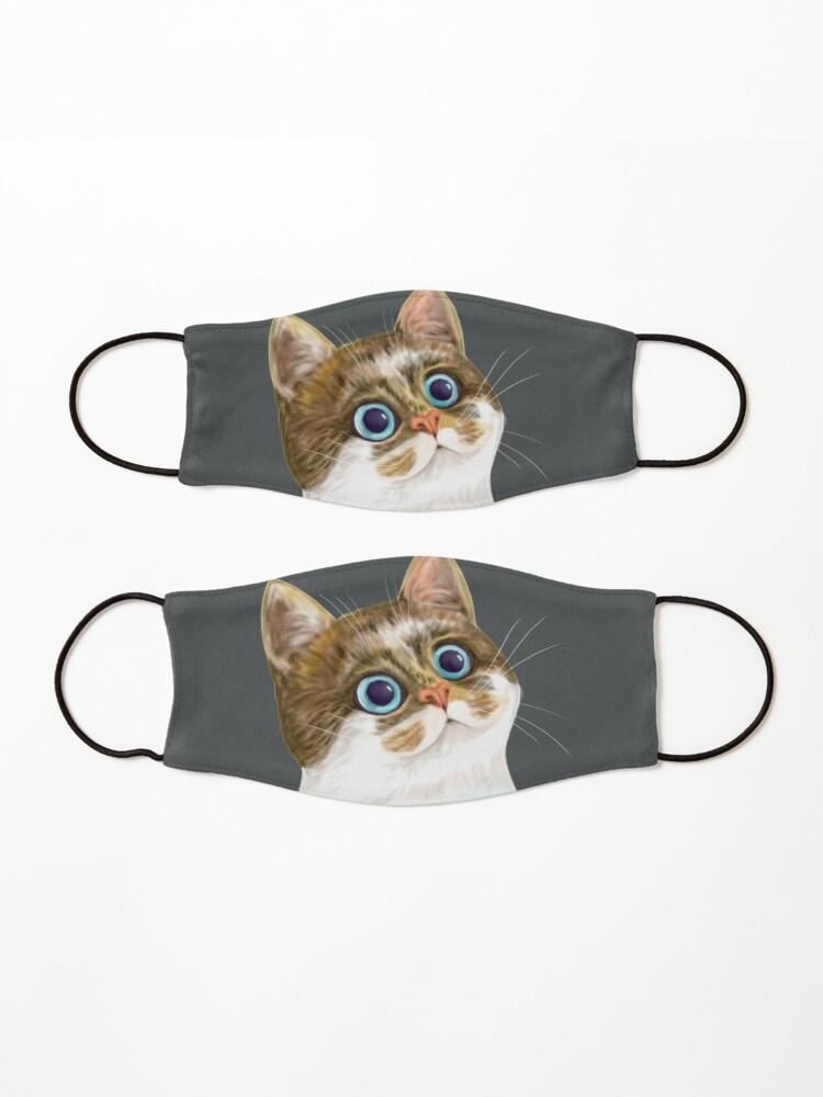 Alternate view of Cat Mask