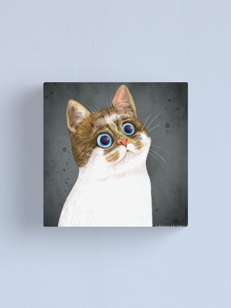 Alternate view of Cat Canvas Print