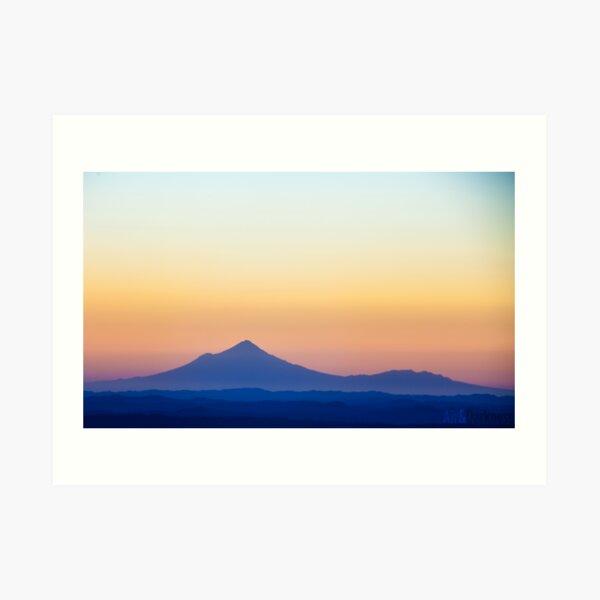Mt Taranaki in the Distance Art Print