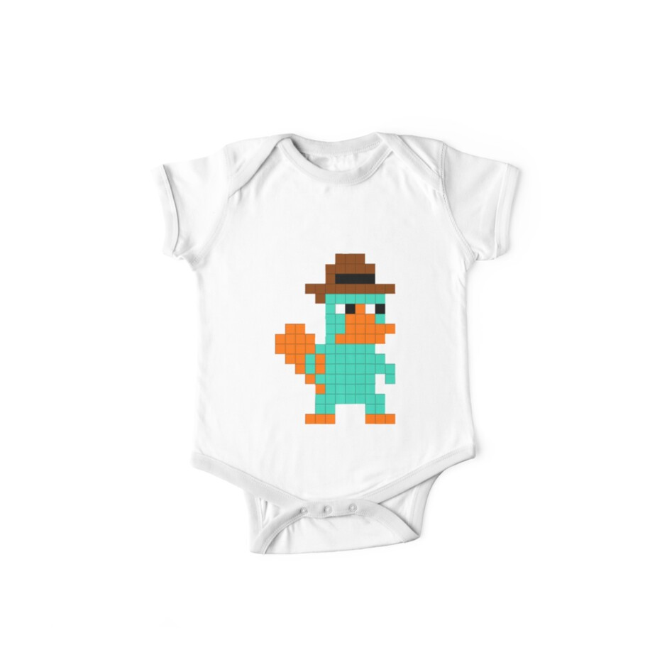 Pixel Perry the Platypus by Clayt0n